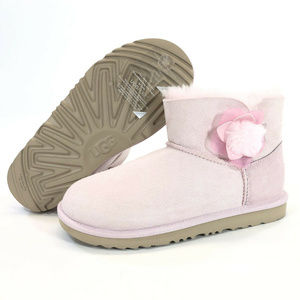NEW UGG Mini Bailey Cactus Flower Boots Pink